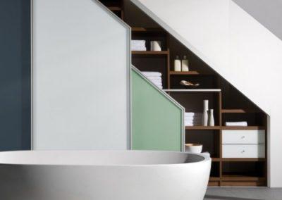 Maatwerk kast badkamer